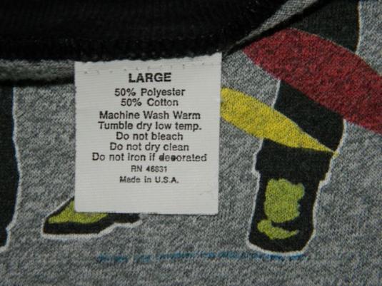 Vintage KISS 85-86 ASYLUM Tour Jersey T-Shirt 80s