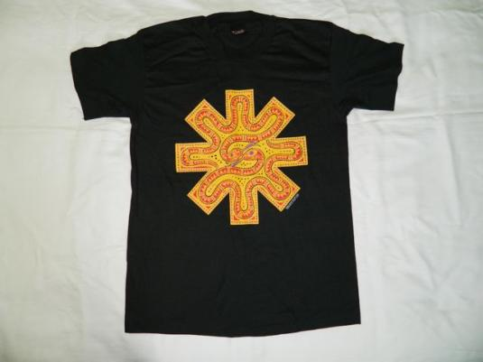 Vintage NOS RED HOT CHILI PEPPERS 1992 SNAKE T-Shirt tour