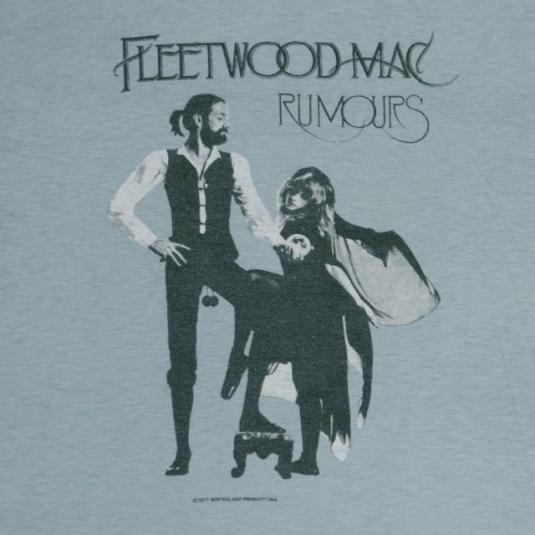 Vintage FLEETWOOD MAC 1977 Rumours Promo T-Shirt 70s