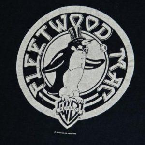 vintage 70S FLEETWOOD MAC T-SHIRT