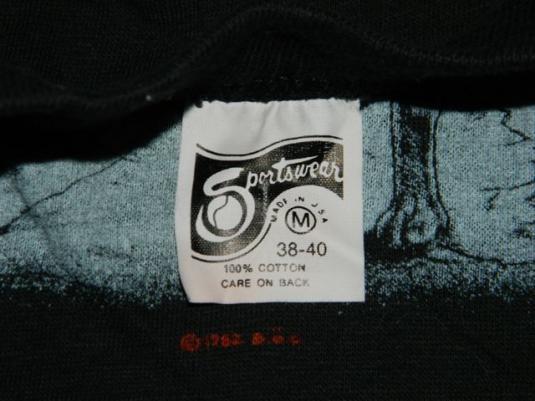 vintage BLUE OYSTER CULT 1982 EXTRATERRESTRIAL LIVE T-Shirt
