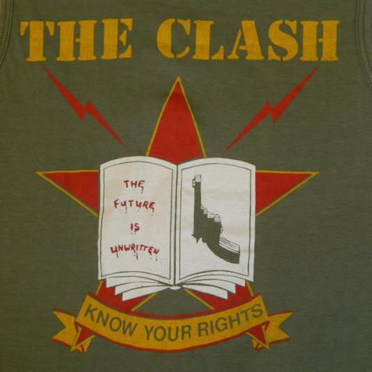 Vintage The Clash 1982 T-shirt