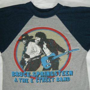 Vintage BRUCE SPRINGSTEEN S 1980-1981 TOUR JERSEY t-shirt
