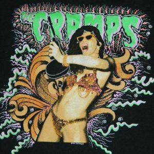 Vintage THE CRAMPS 1990 STAY SICK TOUR T-Shirt Concert