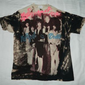 Vintage 80S NEW YORK DOLLS MOSQUITOHEAD T-Shirt