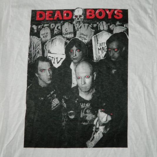 Vintage DEAD BOYS 1987 RETURN OF THE LIVING… T-Shirt 80s