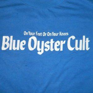 Vintage 1975 BLUE OYSTER CULT PROMO T-Shirt 70s