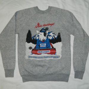 Vintage SPUDS MACKENZIE 80S BUD LIGHT SWEATSHIRT t-shirt