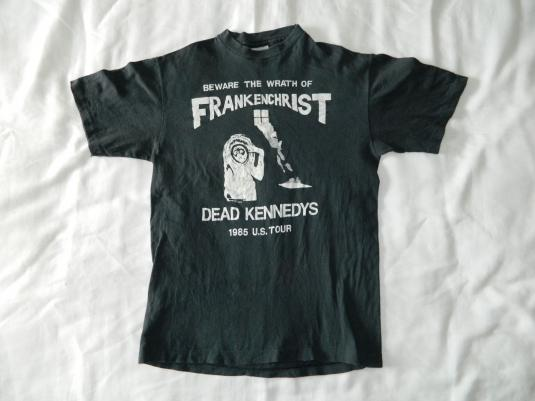 Vintage DEAD KENNEDYS 1985 FRANKENCHRIST TOUR T-Shirt