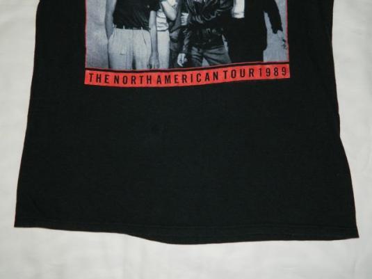 Vintage ROLLING STONES 1989 Steel Wheels Tour T-Shirt