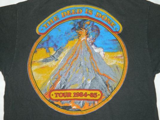 Vintage MOLLY HATCHET 1984 Tour T-shirt concert