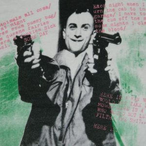Vintage ONE OF A KIND! TAXI DRIVER 80S T-Shirt cult movie