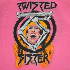Vintage TWISTED SISTER 1984 Stay Hungry Tour T-Shirt