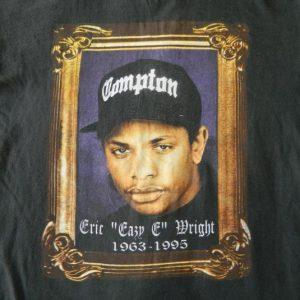 Vintage EAZY E 1995 RIP T-SHIRT NWA OG 90S