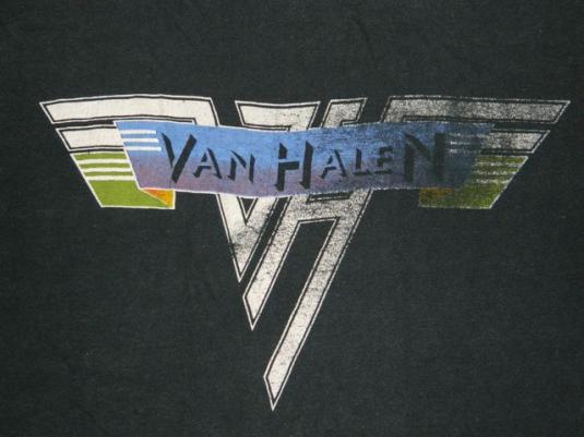 Vintage VAN HALEN 1979 PROMO T-SHIRT tour concert 70s