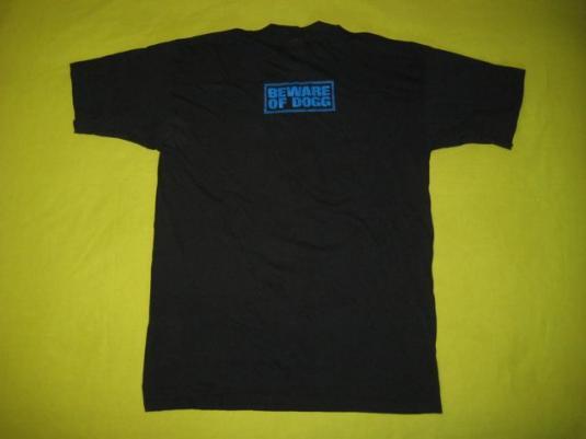 vintage SNOOP DOGGY DOGG 1993 BEWARE OF DOGG PROMO T-Shirt