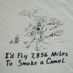 Vintage The GULF WAR OPERATION DESERT STORM T-Shirt army