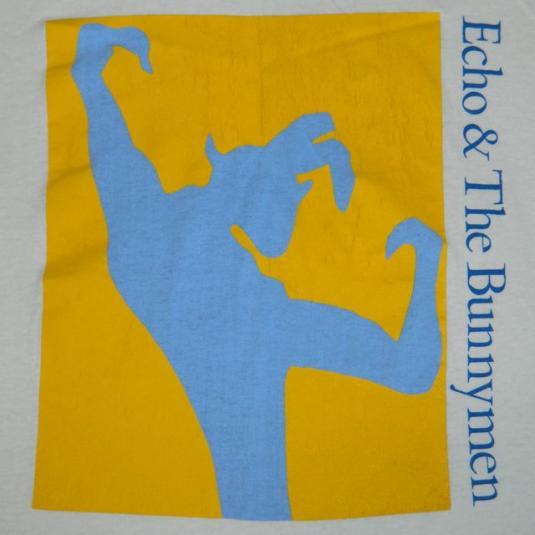 Vintage ECHO & THE BUNNYMEN 80s T-Shirt