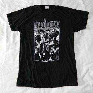 Vintage MUDHONEY 1989 CONCERT T-SHIRT TOUR GRUNGE 80S