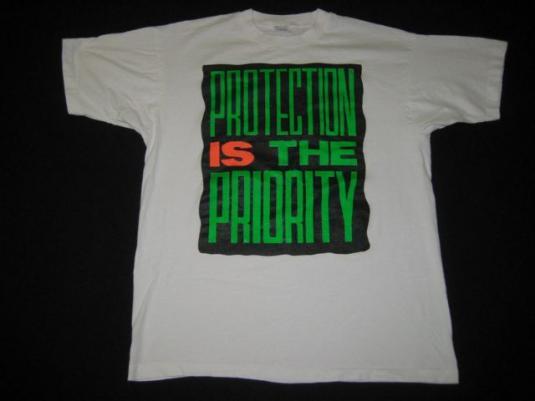 vintage TLC 1992 TOUR T-Shirt concert hip hop 90s