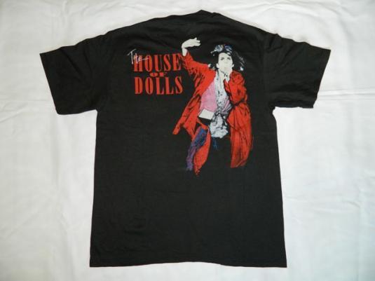 Vintage GENE LOVES JEZEBEL 1988 T-Shirt 80s NOS tour