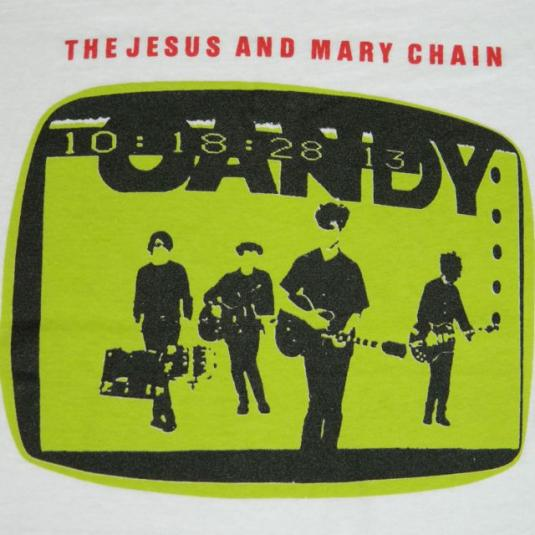 Vintage THE JESUS AND MARY CHAIN Psychocandy T-Shirt 1985