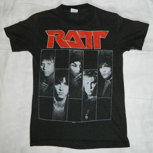 Vintage RATT 1987 Dancing Undercover Tour T-shirt