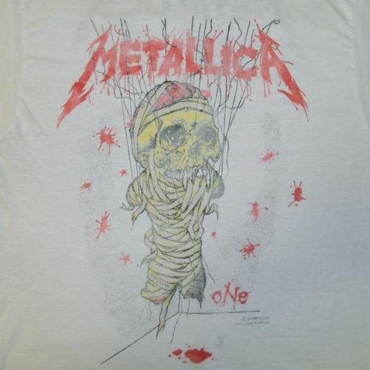 Vintage METALLICA ONE 1989 TOUR T-SHIRT