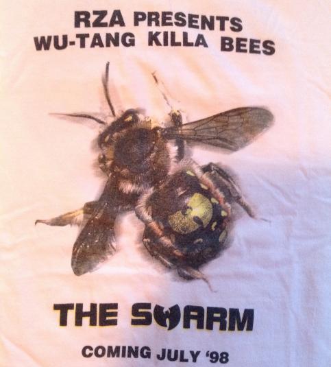 Vintage WU-TANG CLAN KILLA BEES PROMO T-SHIRT 90s the swarm