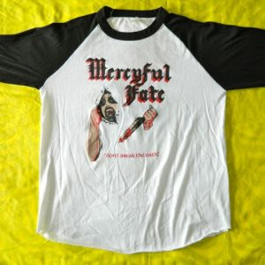 Vintage MERCYFUL FATE 1984 DON'T BREAK THE OATH TOUR T-SHIRT