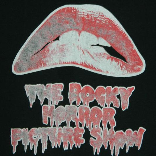 Vintage The ROCKY HORROR PICTURE SHOW 80s T-Shirt XL cult