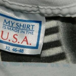 Vintage ROLLING STONES 1989 Steel Wheels Tour T-Shirt XL 80s