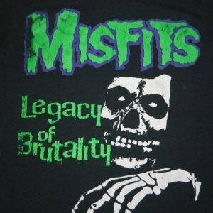 Vintage MISFITS 80s Legacy Of Brutality T-Shirt XL
