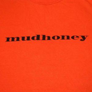 Vintage MUDHONEY 90S TOUR T-Shirt Seattle Grunge concert