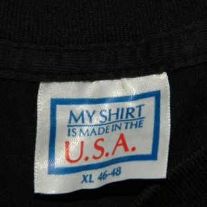 Vintage PETER FRAMPTON 1986 PREMONITION TOUR XL T-Shirt 80s