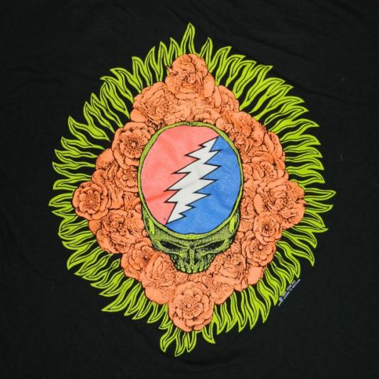vintage GRATEFUL DEAD 1990 SPRING TOUR T-Shirt concert