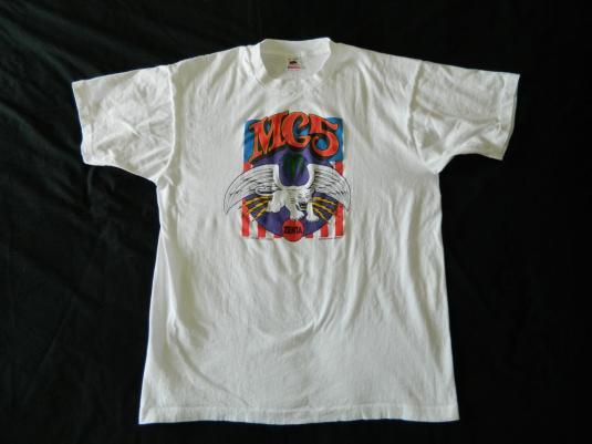 Vintage The MC5 1990 T-SHIRT ZENTA Original