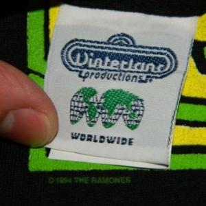 NOS RAMONES ACID EATERS 1994 Vintage T-Shirt dead stock 90s