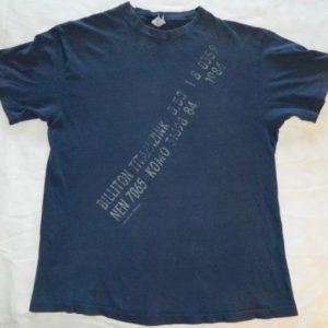 Vintage NEW ORDER 1986 BROTHERHOOD TOUR T-Shirt concert tee