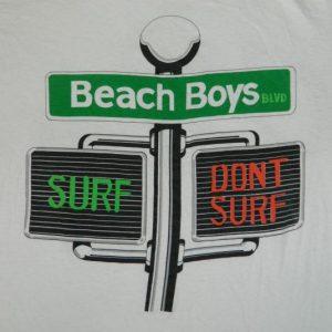 Vintage The BEACH BOYS 80S CATCH A WAVE T-Shirt xl surf