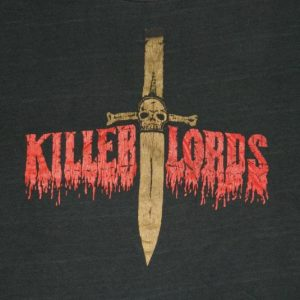Vintage THE LORDS OF THE NEW CHURCH 80S T-Shirt STIV BATORS