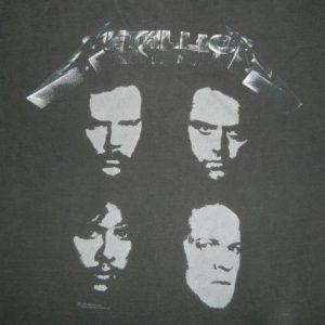 Vintage METALLICA 1991-1992 TOUR T-Shirt concert 90s