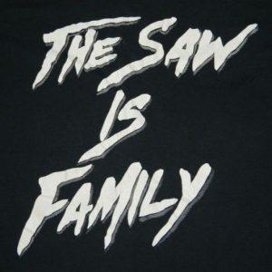 vintage THE TEXAS CHAINSAW MASSACRE 80S T-Shirt horror film