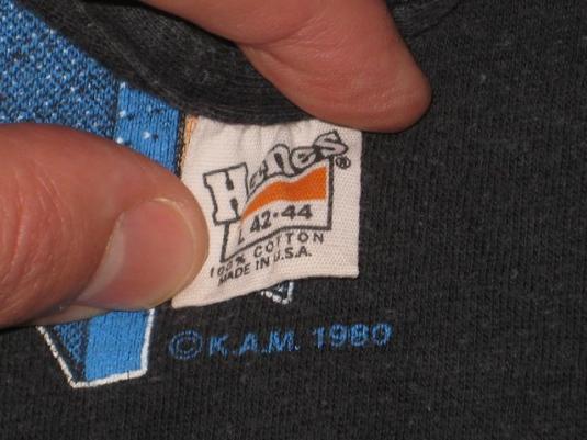 vintage CHEAP TRICK 1980-81 ALL SHOOK UP TOUR T-Shirt 80s