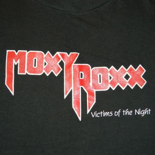 Vintage MOXY ROXX 1986 Promo T-shirt