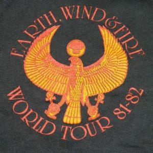 Vintage EARTH WIND & FIRE 81-82 TOUR T-Shirt