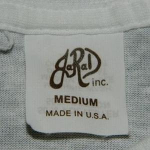 vintage JOHN LENNON 70S BAG ONE DEAD STOCK T-Shirt
