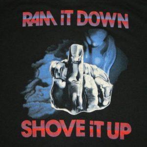 Vintage JUDAS PRIEST 1988 RAM IT DOWN SHOVE IT UP T-Shirt xl