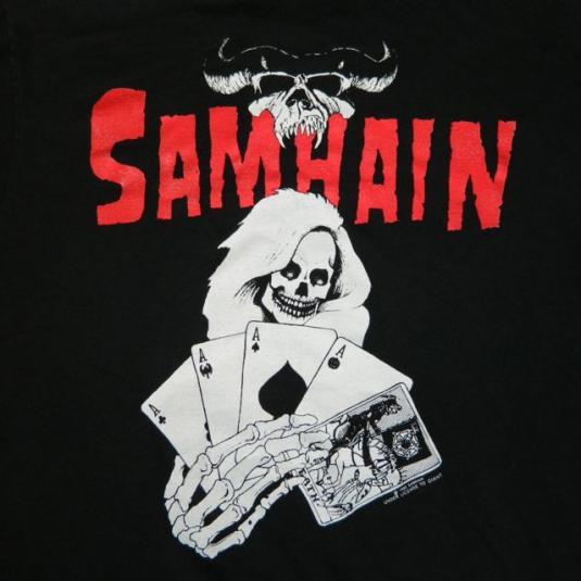 Vintage DANZIG SAMHAIN RARE! 1990 T-Shirt