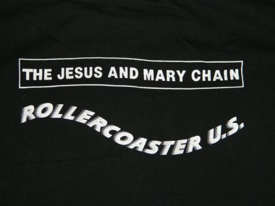 vintage THE JESUS AND MARY CHAIN 1992 T0UR T-Shirt concert